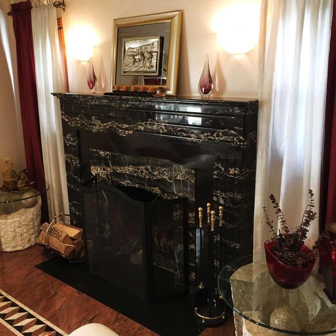 Oakland Garden Fireplace