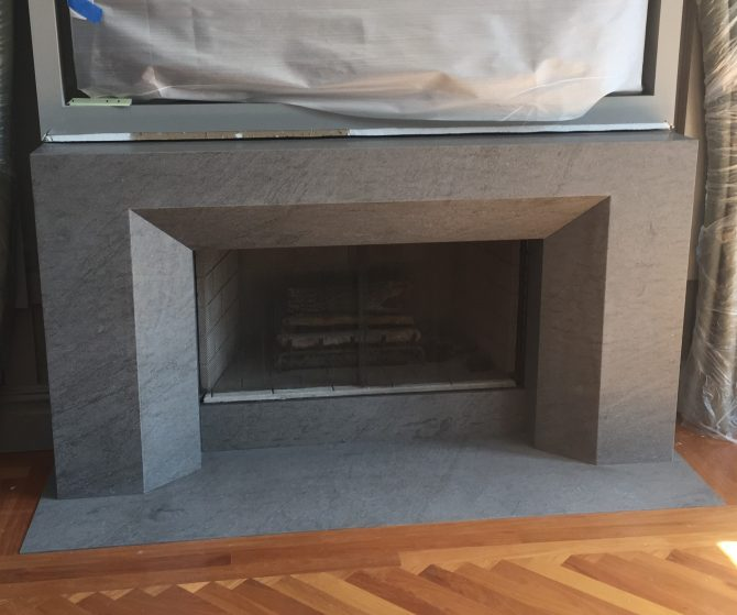 Alpine, NJ Fireplace